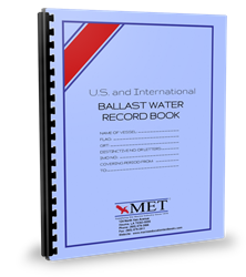 Ballast Water Record Book ballast logbooks, vessel logbooks,